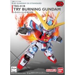 SD EX TRY BURNING GUNDAM