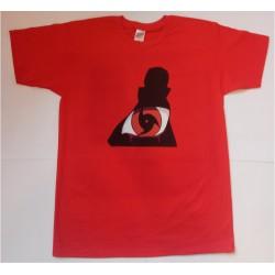 Koszulka Itachi 01 Czerwona