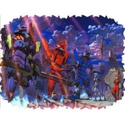 Poduszka Neon Genesis...