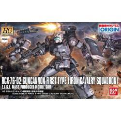 HG 1144 RCX-76-02 GUNCANNON...