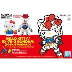 HELLO KITTY  RX-78-2 GUNDAM...