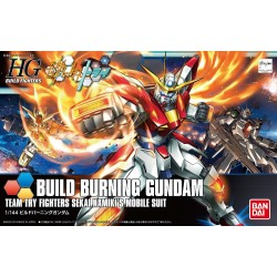 HGBF 1144 BUILD BURNING GUNDAM