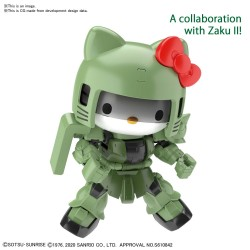 SDEX Hello Kitty  Zaku II